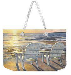 Relaxing Sunset Weekender Tote Bag