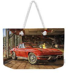Relics Of History - Corvette - Elvis - Nehi Weekender Tote Bag