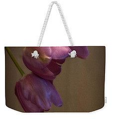 Weekender Tote Bag featuring the photograph Remaining Glory by Lucinda Walter