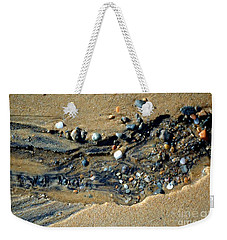 Weekender Tote Bag featuring the photograph Remants by Christiane Hellner-OBrien