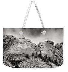 Remarkable Rushmore Weekender Tote Bag by Erika Weber