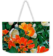 Rembrant's Garden Weekender Tote Bag by Ira Shander