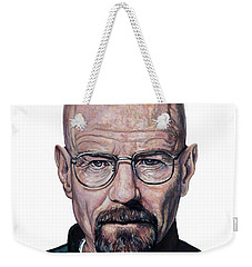 Weekender Tote Bag featuring the painting Remember My Name by Tom Roderick