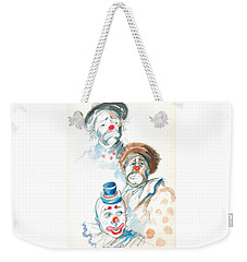 Remember The Clowns Weekender Tote Bag