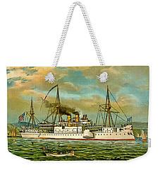 Remember The Maine Weekender Tote Bag