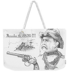 Remember The Maine Weekender Tote Bag
