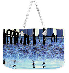 Weekender Tote Bag featuring the photograph Reminders by Faith Williams