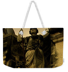 Weekender Tote Bag featuring the photograph Trident To The Sky by Salman Ravish