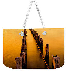 Remnants Weekender Tote Bag by Chad Dutson