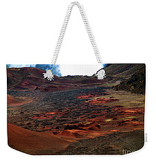 Weekender Tote Bag featuring the photograph Remnants Of A Catastrophe by Patricia Griffin Brett