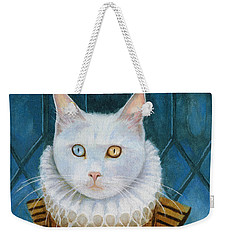 Renaissance Cat Weekender Tote Bag