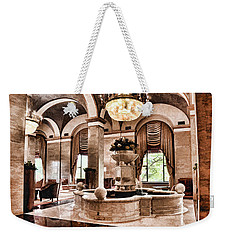 Weekender Tote Bag featuring the photograph Renaissance Cleveland Hotel - 1 by Mark Madere