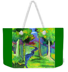 Rendezvous Triptych Weekender Tote Bag by Elizabeth Fontaine-Barr