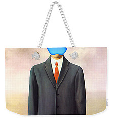 Rene Magritte Son Of Man Apple Computer Logo Weekender Tote Bag
