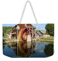 Weekender Tote Bag featuring the photograph Renfro Valley  Mill by Mary Carol Story