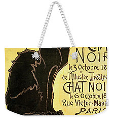 Reopening Of The Chat Noir Cabaret Weekender Tote Bag by Theophile Alexandre Steinlen