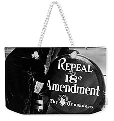Repeal The 18th Amendment Weekender Tote Bag