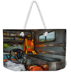Rescue - Emergency Squad  Weekender Tote Bag by Mike Savad