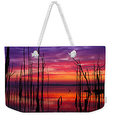 Reservoir At Sunrise Weekender Tote Bag