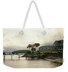 Resort In Bar Harbor Weekender Tote Bag