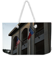 Weekender Tote Bag featuring the photograph Respect by Shawn Marlow