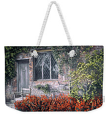 Weekender Tote Bag featuring the painting Rest Awhile by Rosemary Colyer