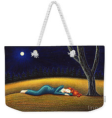 Rest For A Weary Heart Weekender Tote Bag by Danielle R T Haney