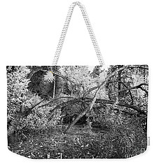 Weekender Tote Bag featuring the photograph Tropical Shade by Roselynne Broussard