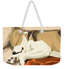 Rest Weekender Tote Bag by Veronica Minozzi