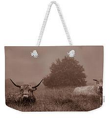 Resting Beasts Weekender Tote Bag by Linsey Williams