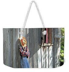 Weekender Tote Bag featuring the photograph Resting by Gordon Elwell