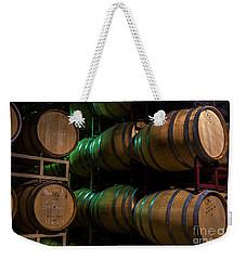 Resting Wine Barrels Weekender Tote Bag by Iris Richardson