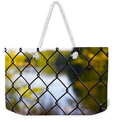 Restricted Access Weekender Tote Bag by Michelle Joseph-Long