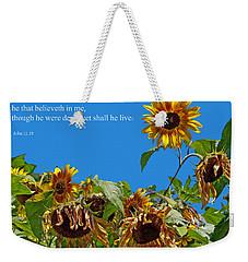 Resurrected Life Weekender Tote Bag