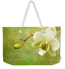 Reticent Weekender Tote Bag by Beve Brown-Clark Photography