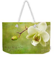 Reticent Weekender Tote Bag