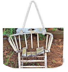 Weekender Tote Bag featuring the photograph Retired by Gordon Elwell