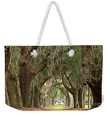 Retreat Avenue Of The Oaks Weekender Tote Bag by Adam Jewell