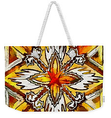 Weekender Tote Bag featuring the digital art Return by Kathy Bassett