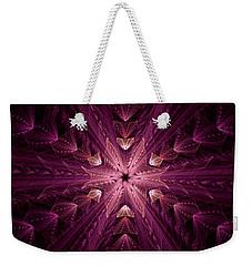 Weekender Tote Bag featuring the digital art Returning Home by GJ Blackman
