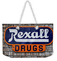 Rexall Drugs Weekender Tote Bag
