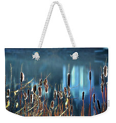 Weekender Tote Bag featuring the photograph Rhapsody In Blue by Cindy Greenstein