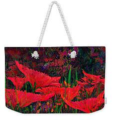 Rhapsody In Red Weekender Tote Bag