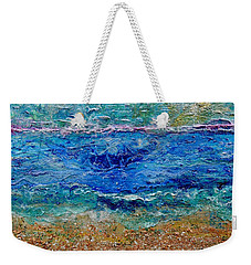 Rhapsody On The Sea  Weekender Tote Bag by Regina Valluzzi