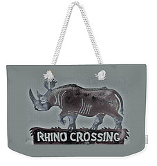 Rhino Xiv Weekender Tote Bag by Larry Campbell