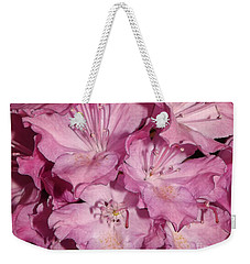Rhododendron Bliss Weekender Tote Bag