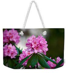 Rhododendron Weekender Tote Bag by Jouko Lehto