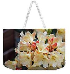Rhododendron Nancy Evans Weekender Tote Bag