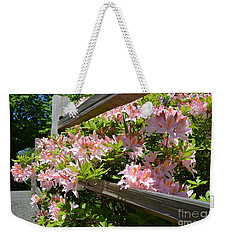 Rhododendrons In Tumwater Falls Park Weekender Tote Bag