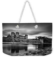 Rhuddlan Castle Weekender Tote Bag by Dave Bowman